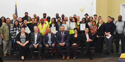 "Fourth ""HireLAX"" cohort graduates from LA Southwest College"