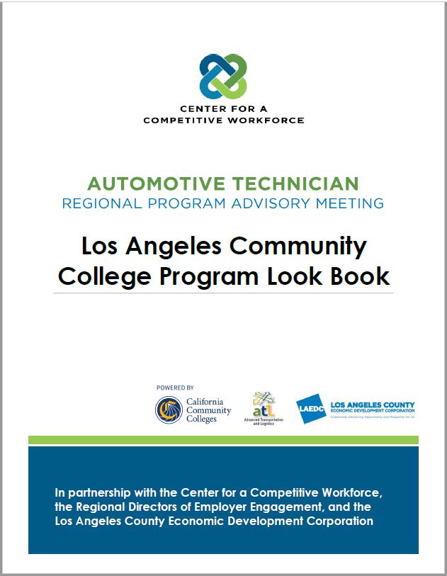 Automotive Technician – Regional Program Advisory